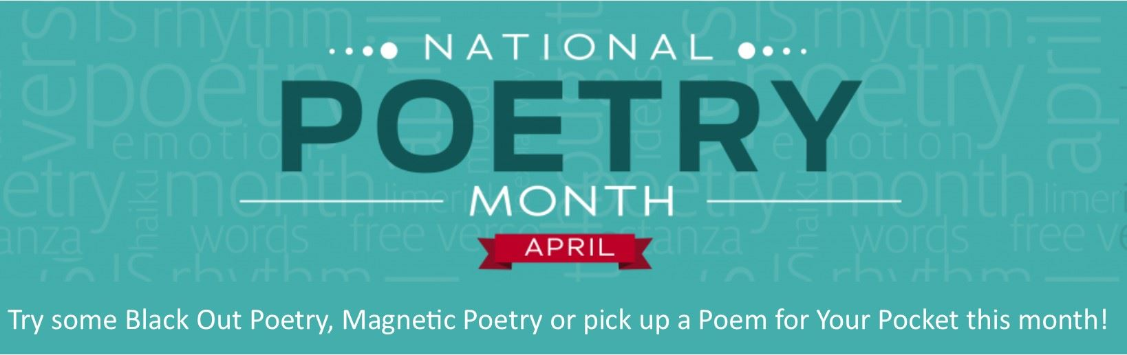 Poetry Month 2019